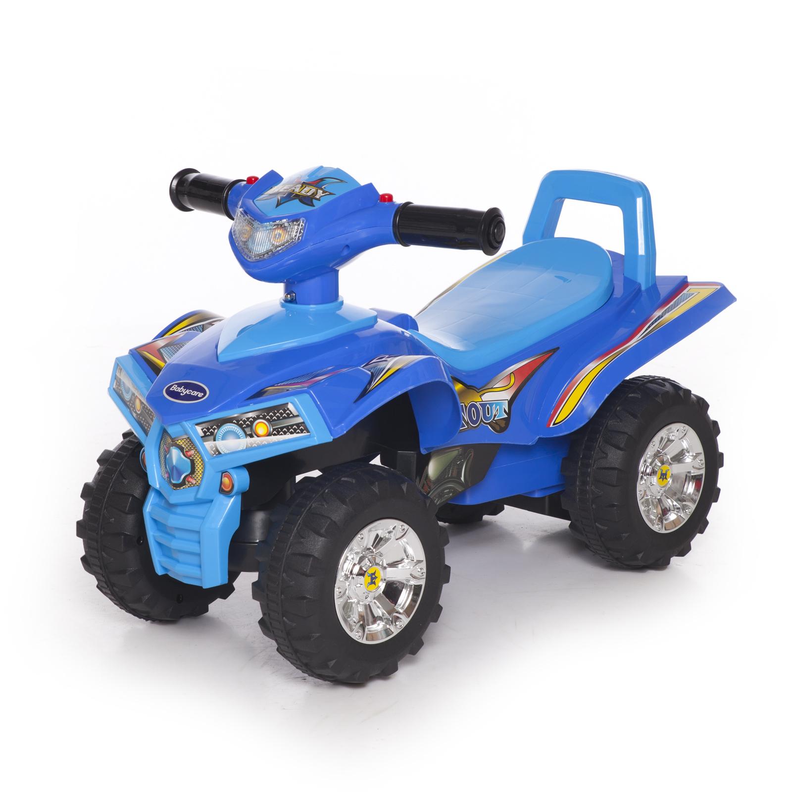 Каталка Baby Care Super ATV синяя