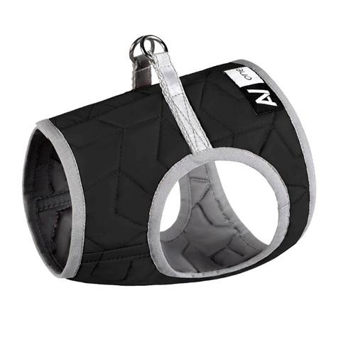 Шлейка для собак Collar AiryVest ONE, мягкая, черная, S1