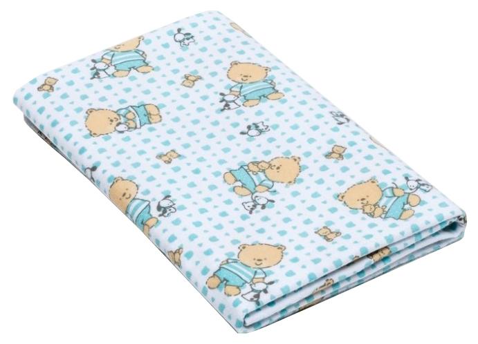 Пеленка для детей Крошка Я Мишки 75×120 см