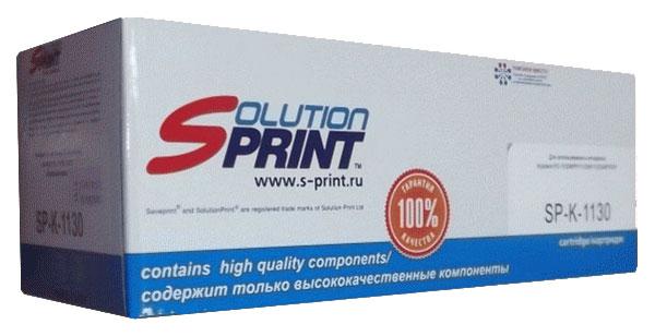 Картридж лазерный Solution Print SP-K-1130, совместимый с Kyocera Mita TK-1130, черный фото