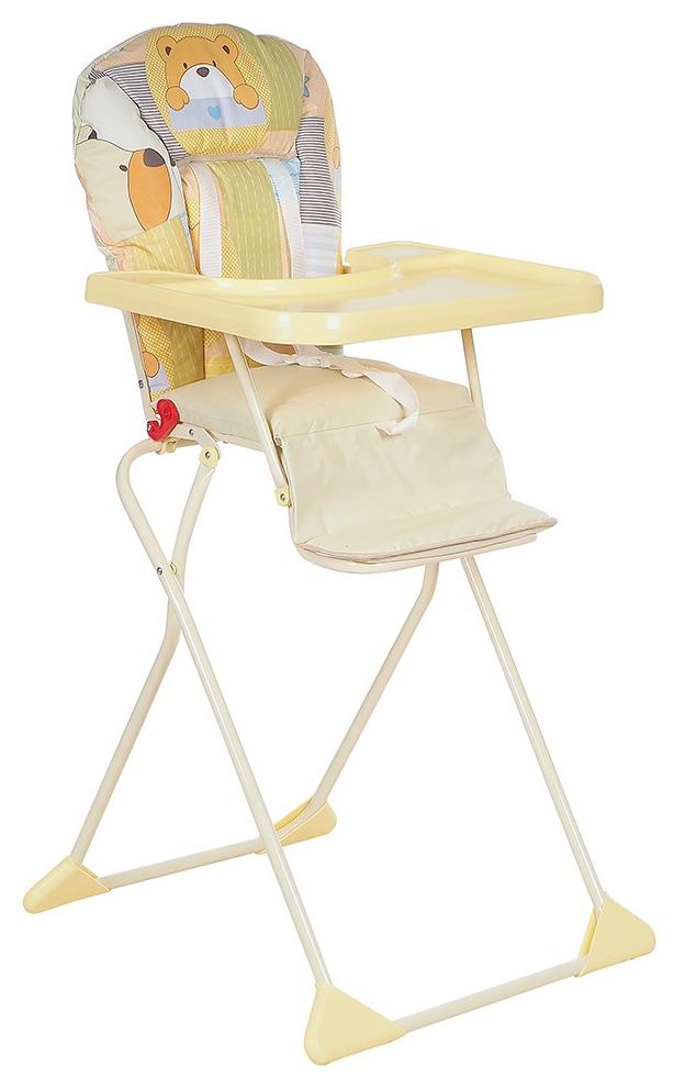 ГЛОБЭКС Стул-стол для кормления КОМПАКТ Желтый 1401