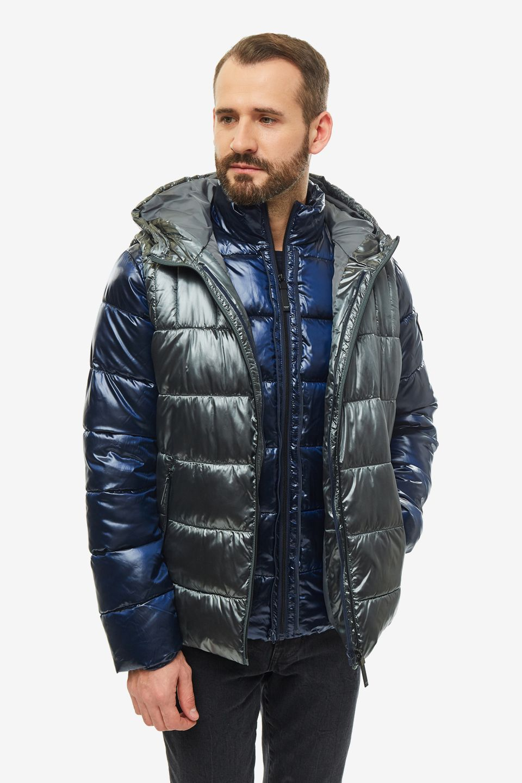 Куртка мужская Guess M94L32-WC200-FHK9 синяя XL
