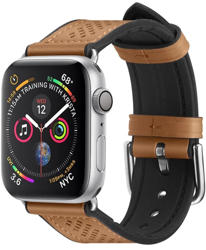 Ремешок Spigen Retro Fit (061MP25077) для Apple Watch Series 2/3/4/5 38/40 mm (Brown)