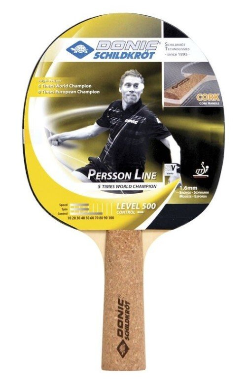 Ракетки для настольного тенниса Donic Persson 500 фото