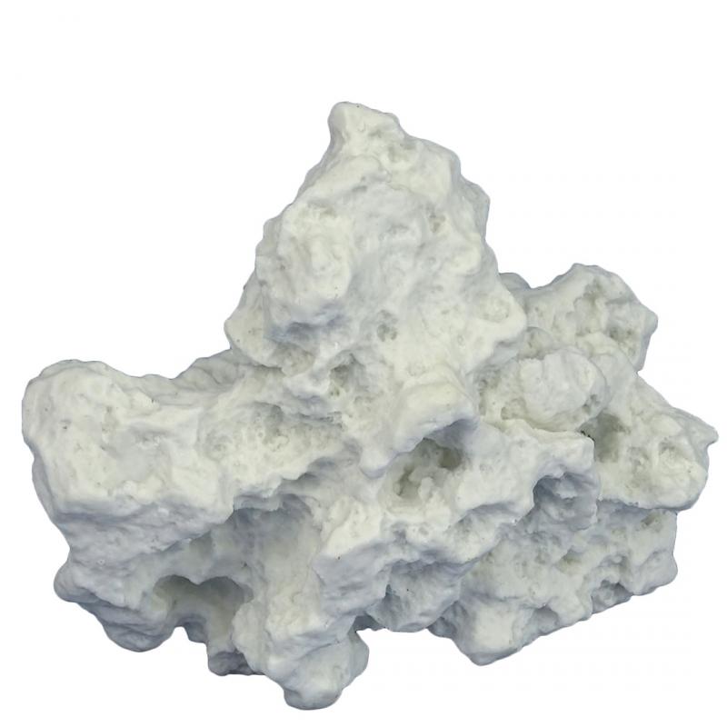 Камень для аквариума AQUA DELLA Белый Камень, полиэфирная смола, 11х13х16 см фото