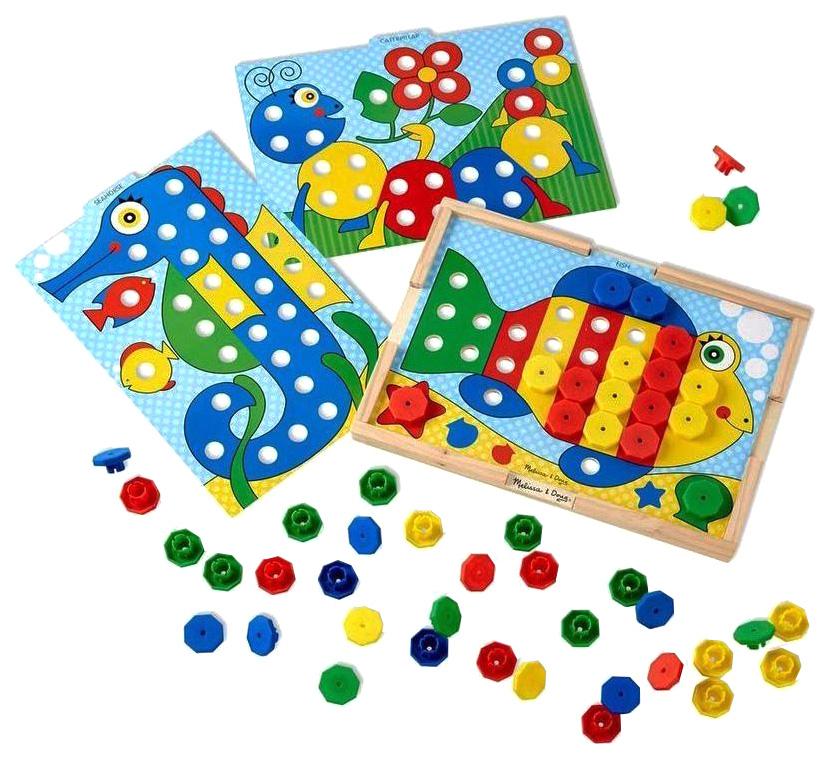 Купить Набор игровой Melissa&Doug Подбери правильный цвет 4313, Melissa & Doug, Развивающие игрушки