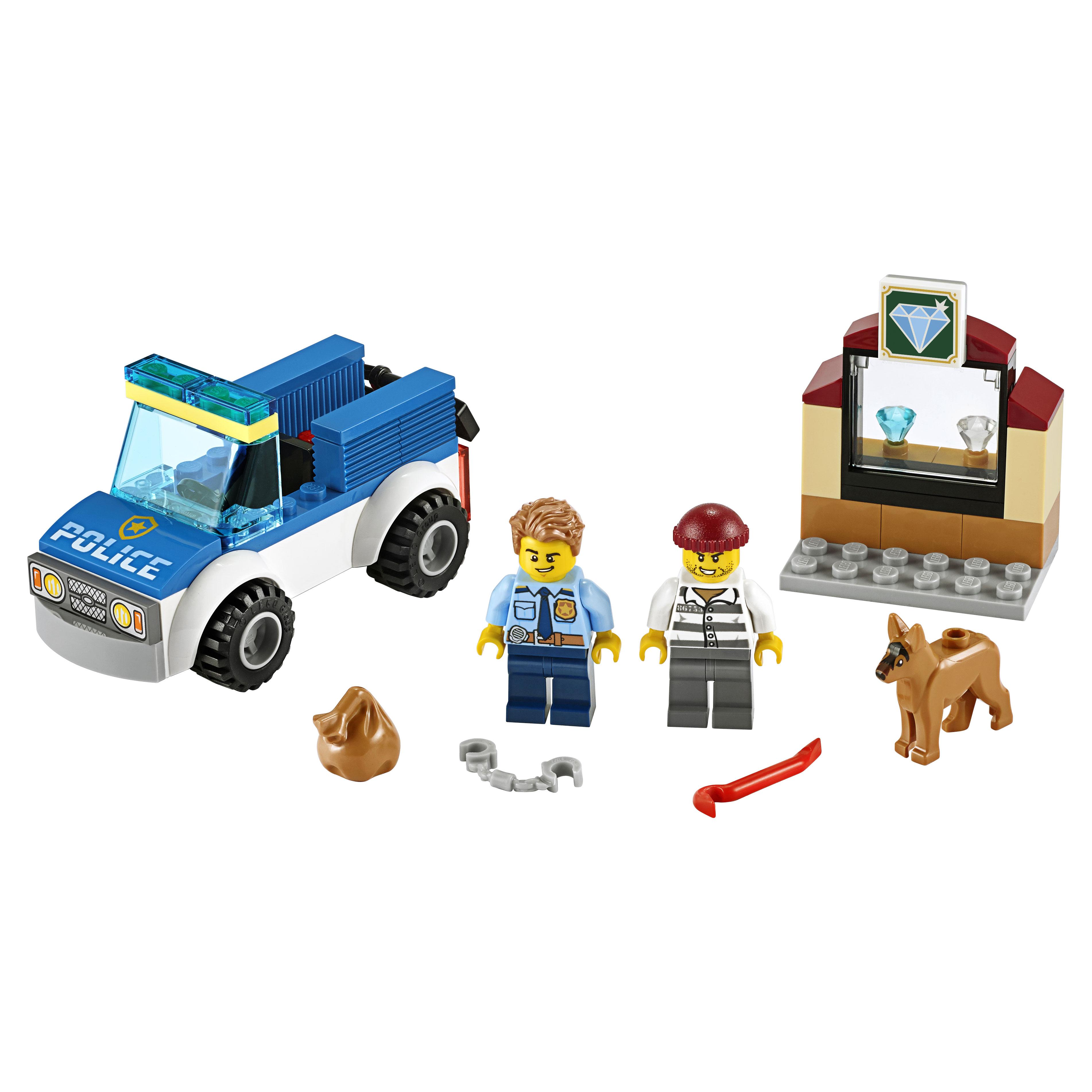 Конструктор LEGO City Police 60241 Полицейский отряд с собакой фото