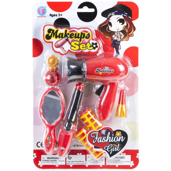 Купить Набор парикмахера Fashion Girl, 2 вида, CRD 28?17?4см, арт.1274, Junfa toys, Детские наборы парикмахера