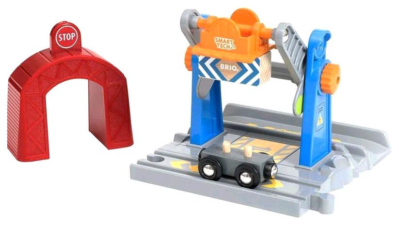 Купить Игровой набор Brio Туннель С Подъёмным Краном Brio 4 Элемента 16 9X16 2X11 6 См,
