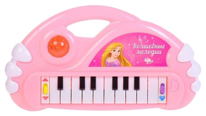Купить Синтезатор Волшебные мелодии , Принцессы, 10 мелодий, световые эффекты Disney, Детские музыкальные инструменты