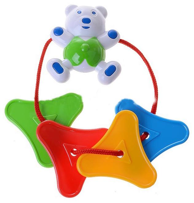 Купить Подвеска Цепочка с мишкой 2109 Аэлита 2С369-03174870, АЭЛИТА, Подвесные игрушки
