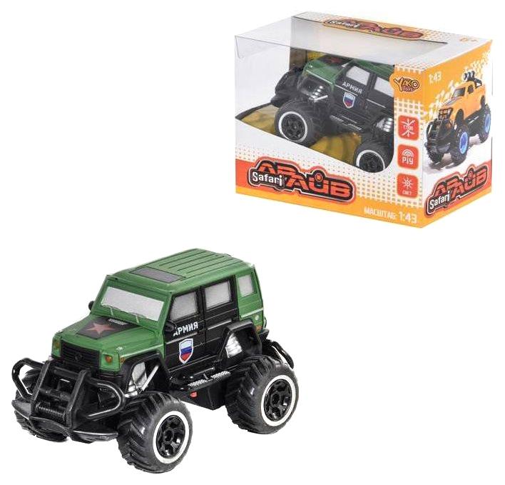 Купить Машина на радиоуправлении Yako Военный джип, 4 канала, M6492, Yako Toys, Радиоуправляемые машинки