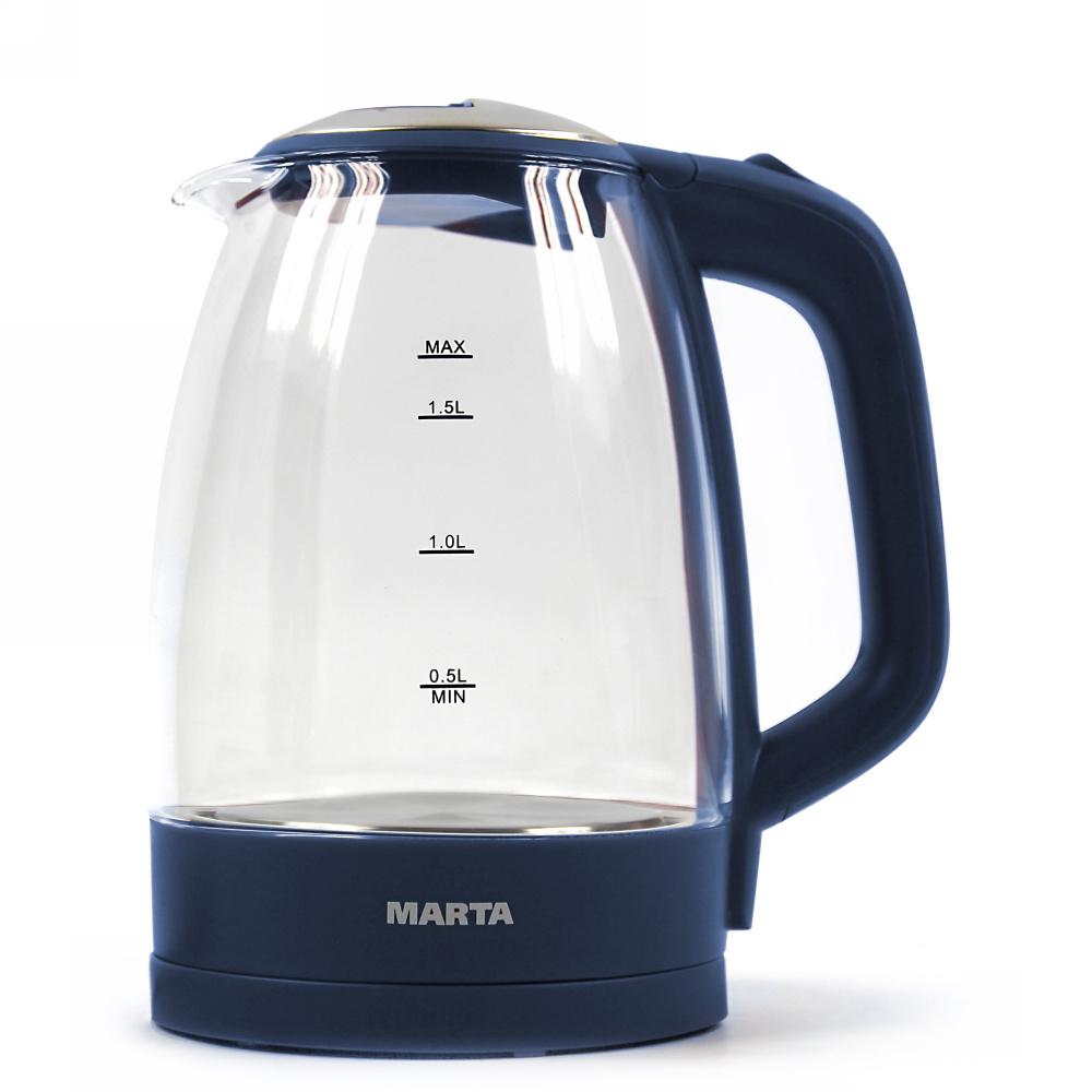 Чайник электрический Marta MT 1097 Blue Sapphire