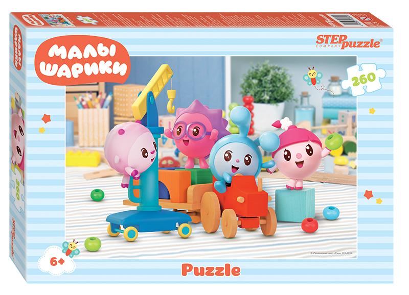 Пазл Step Puzzle 260 деталей Малышарики