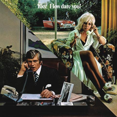 Виниловая пластинка 10cc  How Dare You! (LP), Mercury  - купить со скидкой