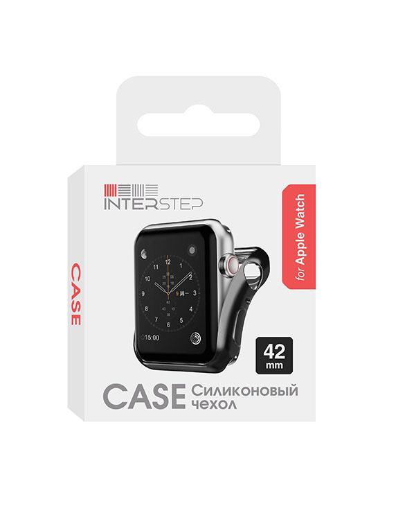 Чехол InterStep для Apple Watch 42mm Black