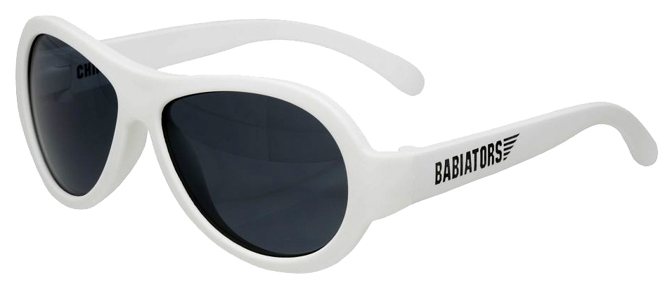 Очки Babiators (Бабиаторс) Original Aviator солнцезащитные шаловливый белый (0-2) BAB-009