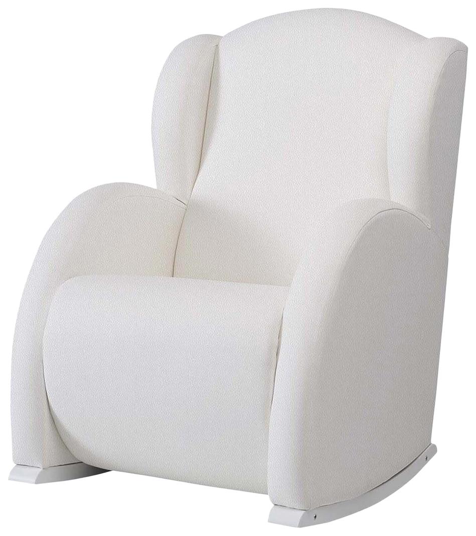 Купить Кресло-качалка Micuna (Микуна) Wing/Flor Relax white/white искусственная кожа, Детские стульчики