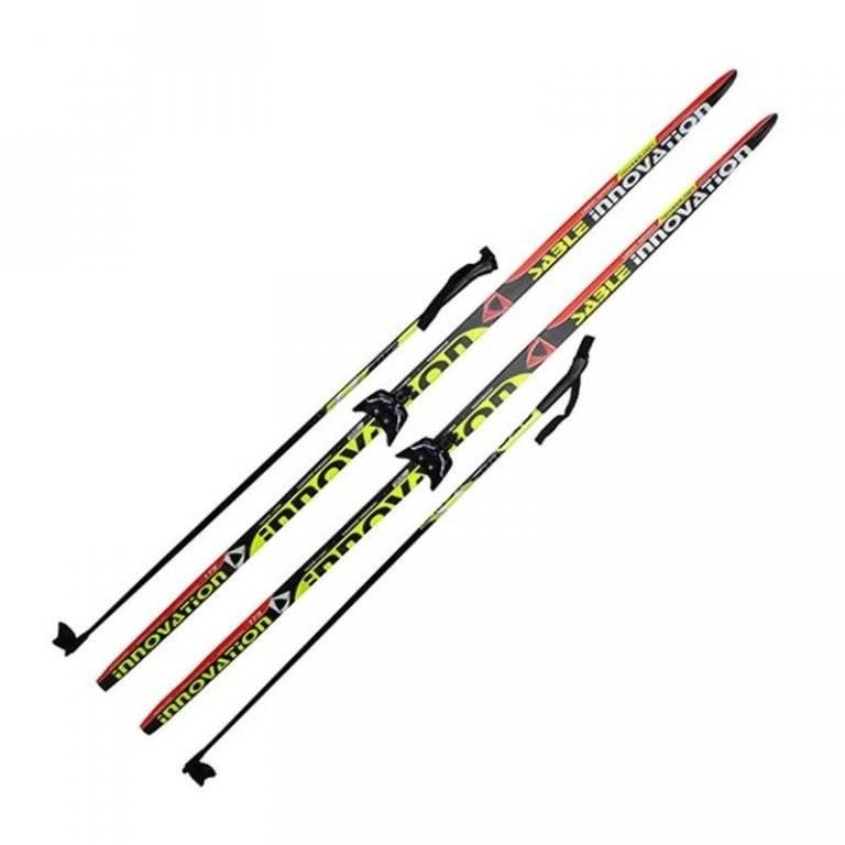 Лыжный комплект 75мм STEP INNOVATION рост 205