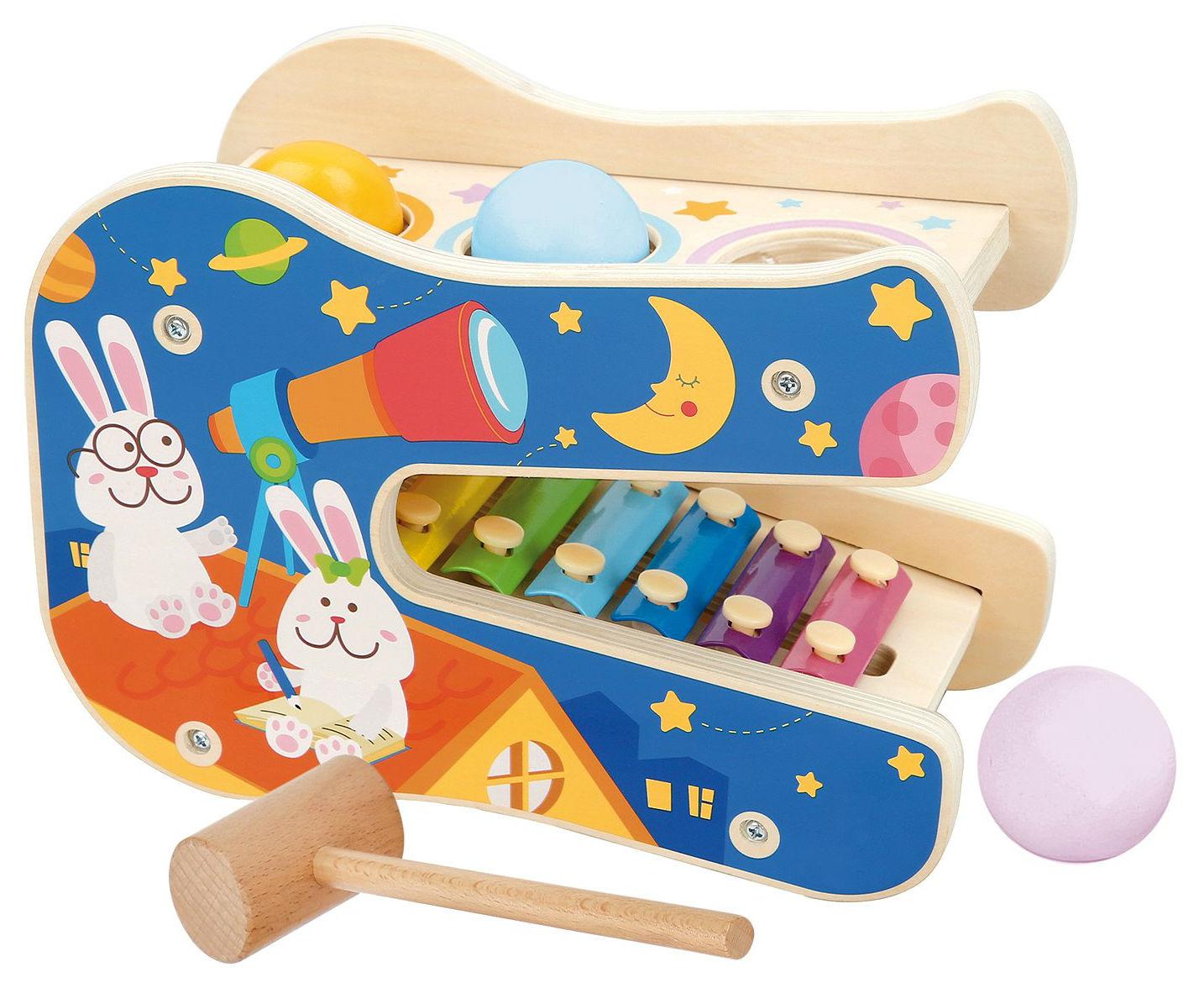 Деревянная игрушка Lucy&Leo Звёздные мелодии