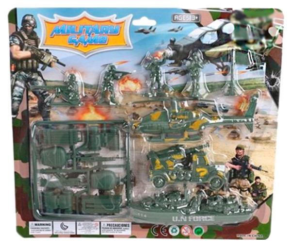Купить Игровой набор Солдатики Shantou Gepai Военный 114-200, Игровые наборы