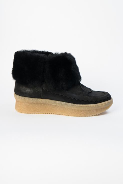 Ботинки женские Kanna KI8855 черные 40 RU