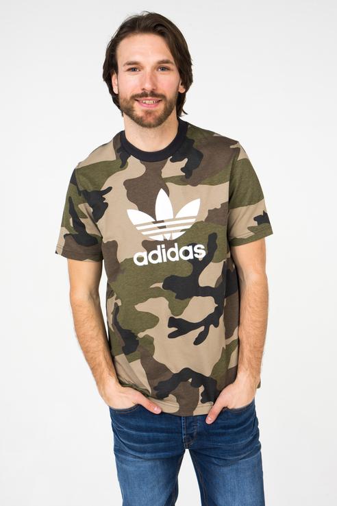 Футболка мужская Adidas DV2067 зеленая XL