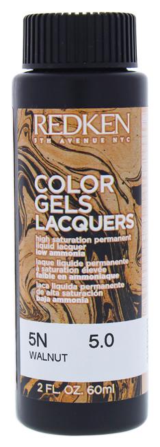 Купить Краска для волос REDKEN Color Gels Lacquers 5N Walnut 60 мл