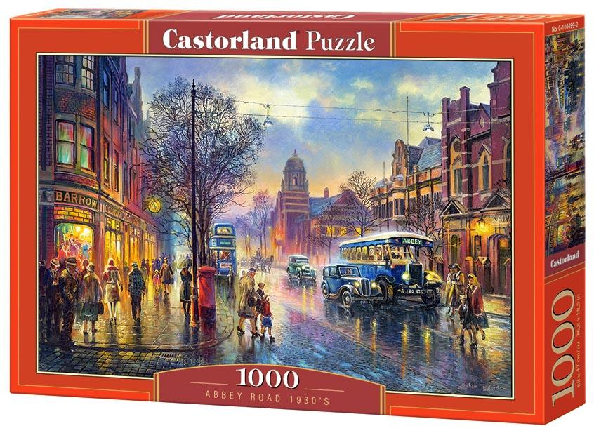 Пазл Castorland 1000 деталей Эбби-Роуд 1930-е C-104499