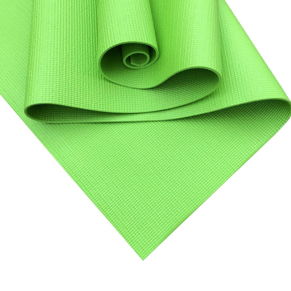 Коврик для йоги RamaYoga Star зеленый 4 мм
