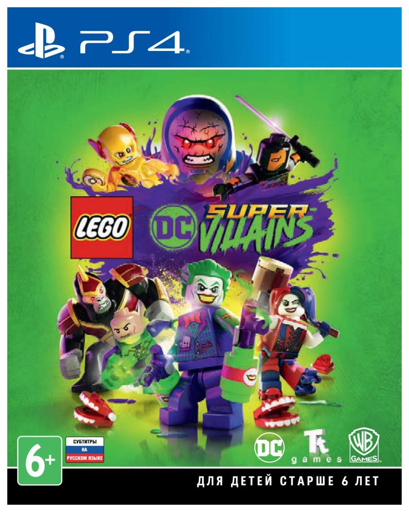 Игра LEGO DC Super-Villains для PlayStation 4 фото