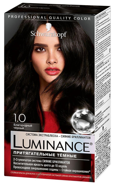 Краска для волос Schwarzkopf Luminance Color 1.0 Благородный черный 165 мл