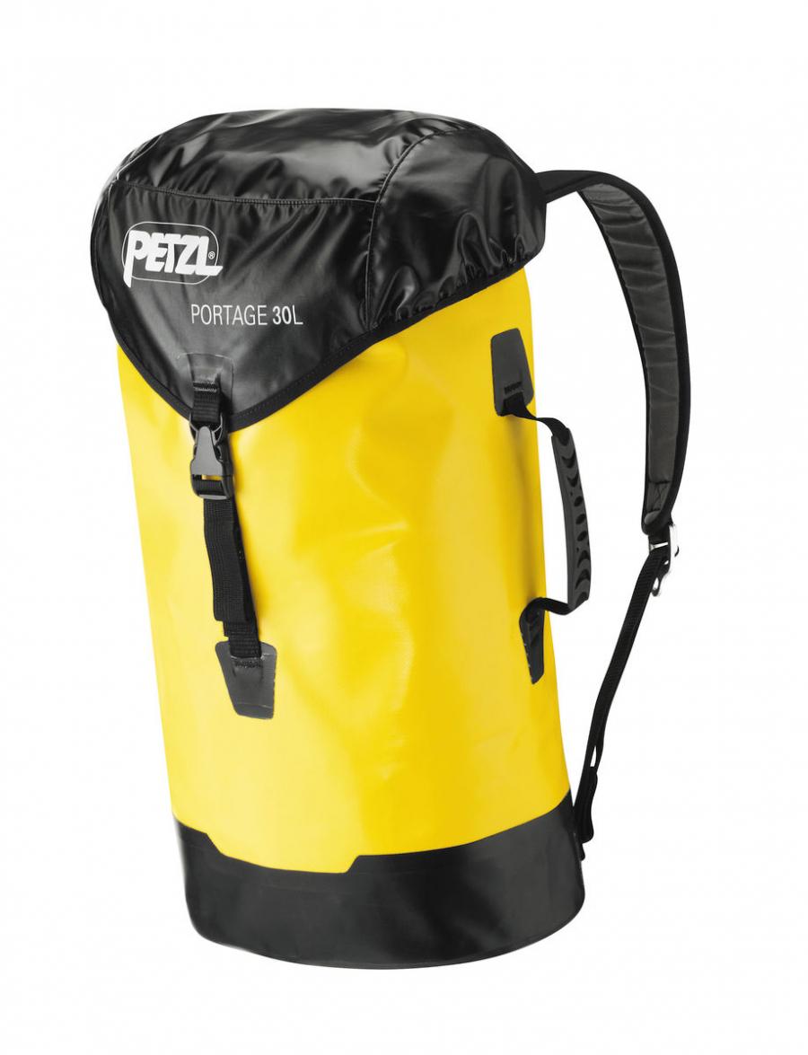 Туристический баул Petzl Portage 30 л желтый