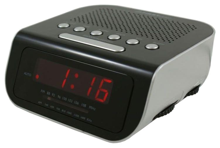Радиочасы First 2406-6 Черный