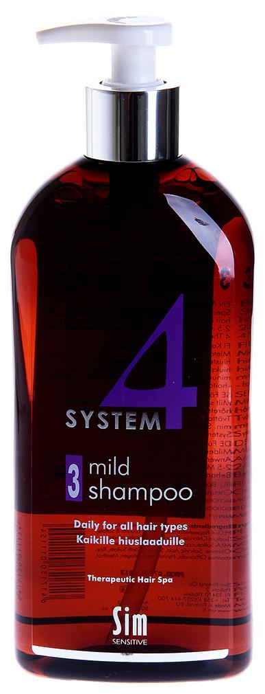 Шампунь Sim Sensitive System 4 № 3 Mild Shampoo 500 мл