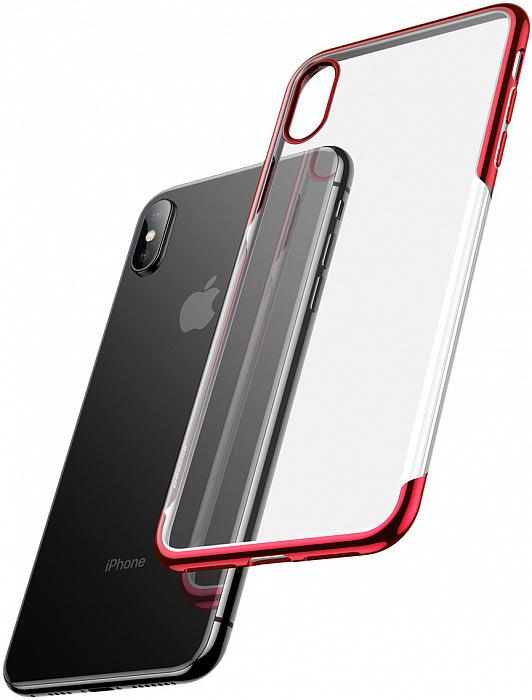 Чехол Baseus Shining (ARAPIPH65-MD09) для iPhone Xs Max (Red)