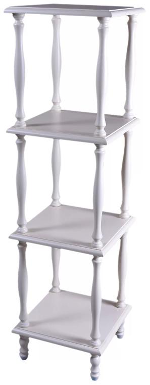 Этажерка Мебелик П 8 Слоновая кость