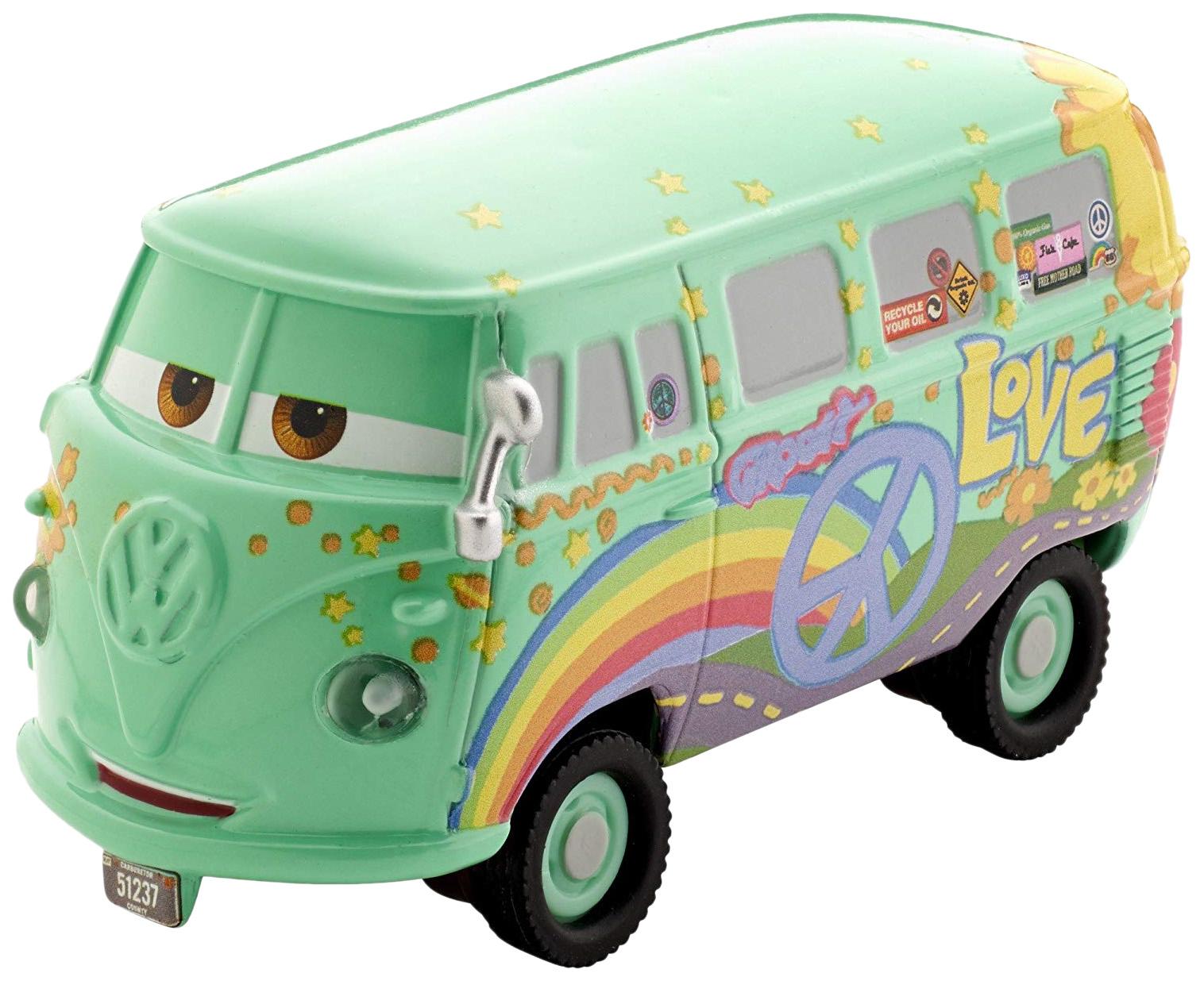 Купить Коллекционная модель Mattel Тачки 1:55 DHD60, Коллекционные модели