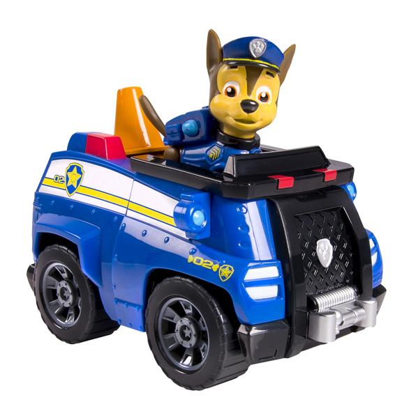 Купить Игровой набор Paw Patrol Щенячий патруль Машинка спасателя и щенок (Чейз), Игровые наборы