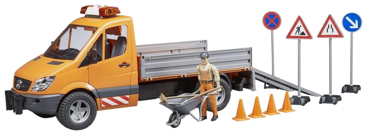 Купить Игровой набор Bruder Дорожная служба Mercedes-Benz Sprinter, Игрушечный транспорт Bruder