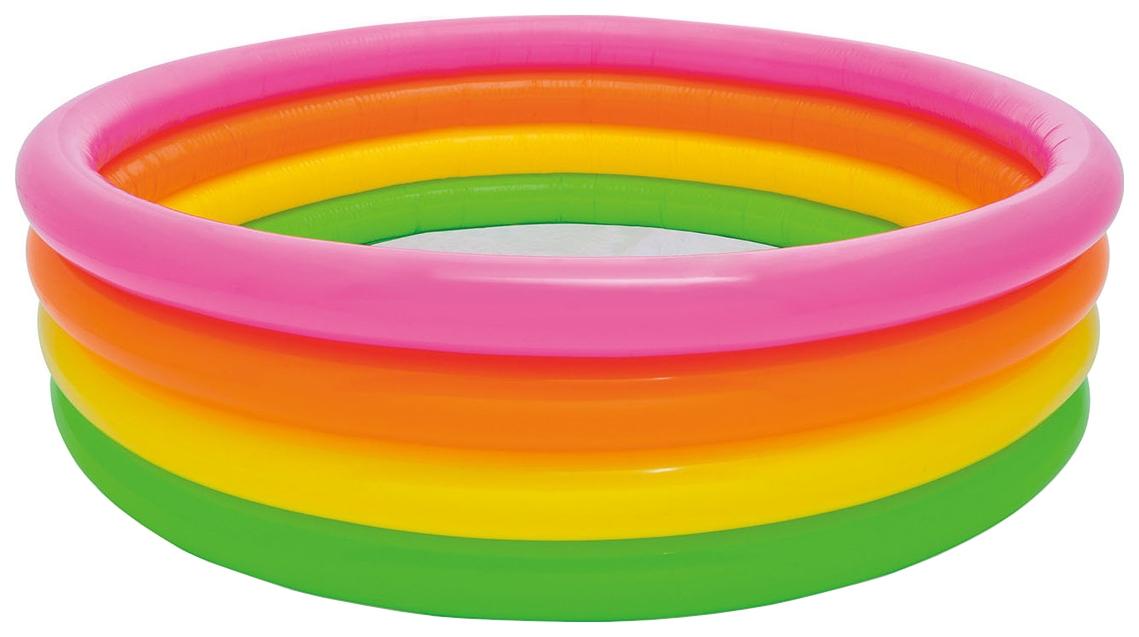 Купить Детский бассейн INTEX Радуга 168х46 см, Детские бассейны