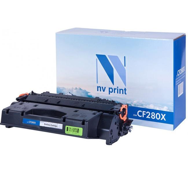 Картридж для лазерного принтера NV Print CF280X, черный NV-CF280X