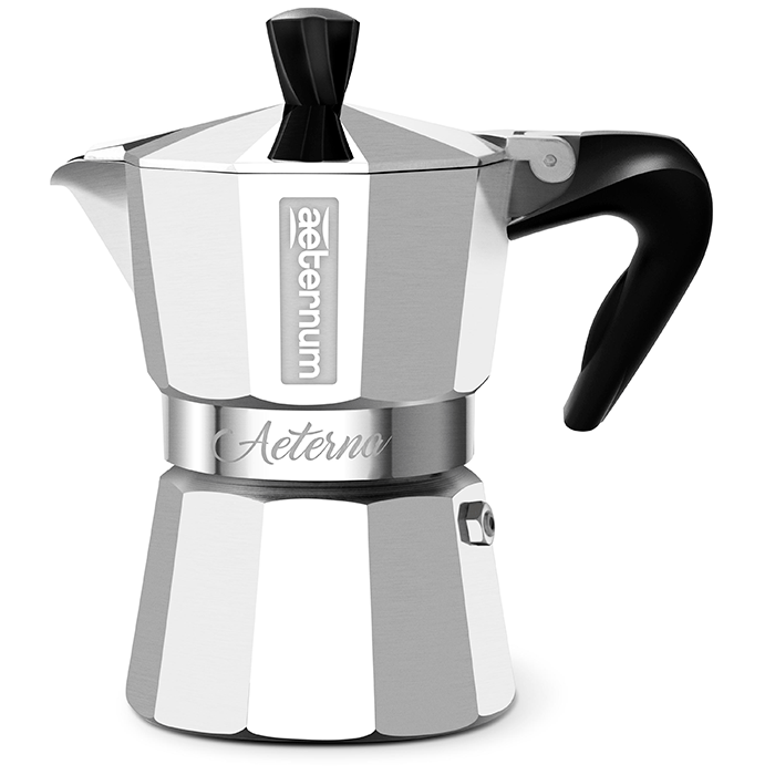Кофеварка гейзерная AETERNUM/Bialetti AETERNA на 2 чашки