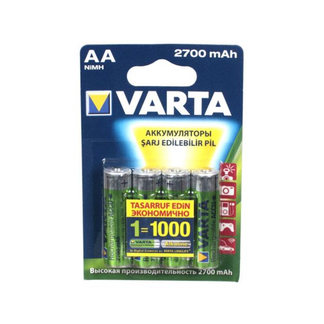 Аккумуляторы Varta HR6 4 шт