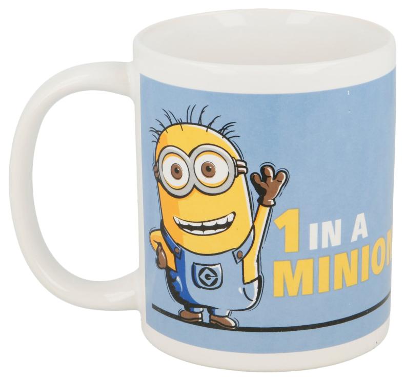 Чашка детская Stor Minions 77017 керамическая
