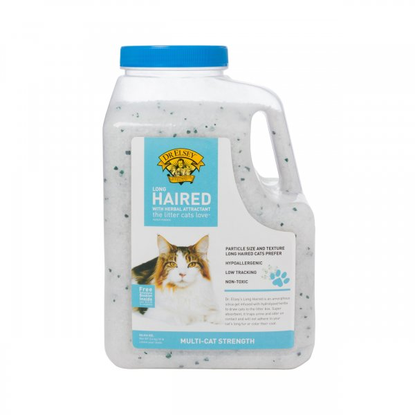Наполнитель для туалета Dr.Elsey\'s Long Hair Litter для длинношерстных кошек, 3,6 кг