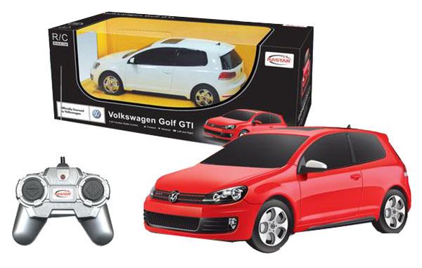 Машинка пластиковая радиоуправляемая Rastar Volkswagen Golf GTI 44700 в ассортименте