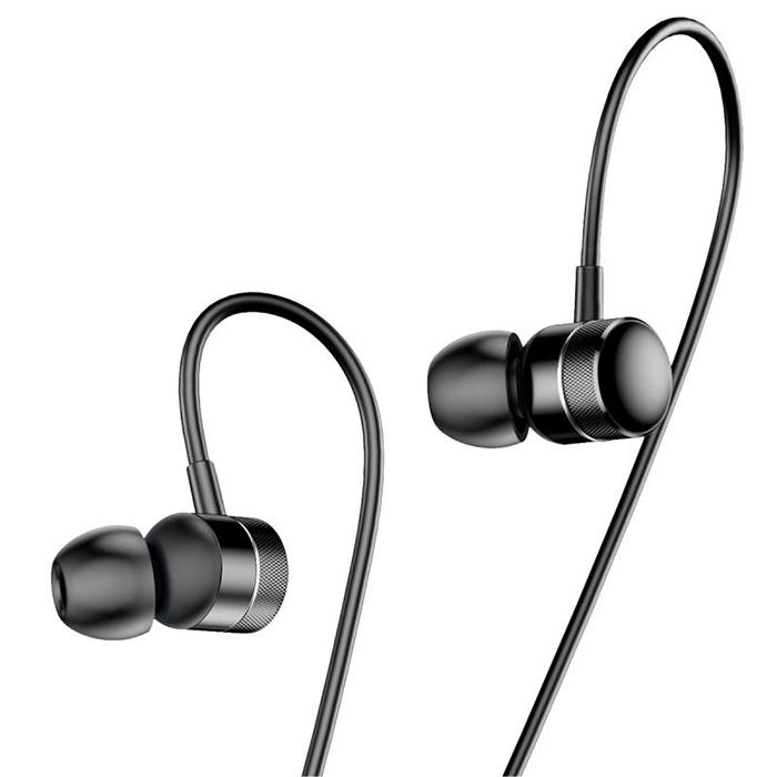 Наушники Baseus Encok Wire Earphone H04 Black/Black  - купить со скидкой