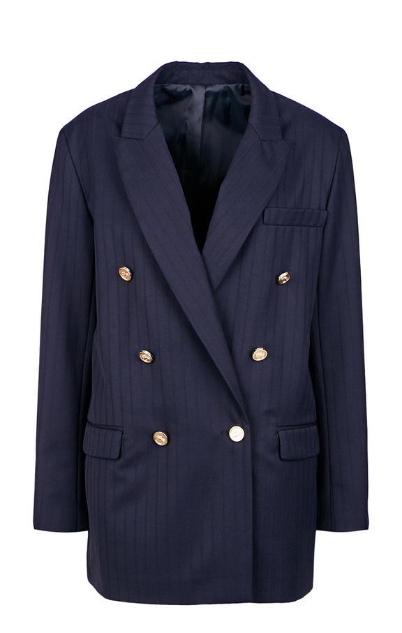 Пиджак женский Lacoste синий 46
