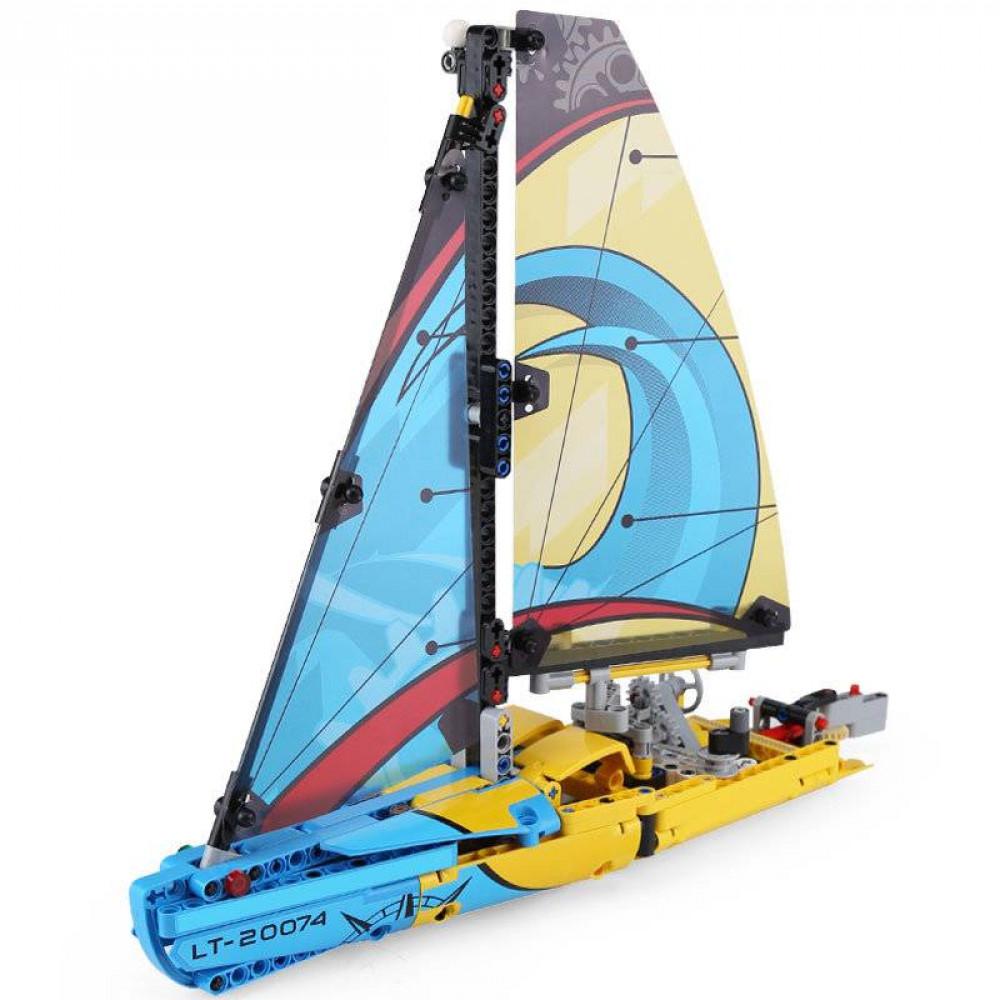 Купить Конструктор пластиковый Lepin Technician 20074 Гоночная яхта, Конструкторы пластмассовые